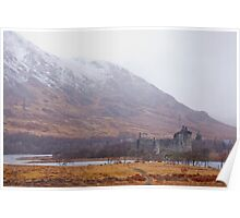 Kilchurn Castle, Scottish Highlands Poster