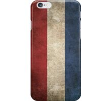 Old and Worn Distressed Vintage Flag of The Netherlands iPhone Case/Skin