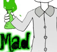 Little Mad Scientist Tee Sticker