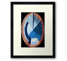 Modern building abstract Framed Print