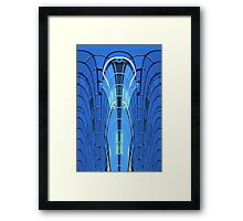 Modern building abstract 2 Framed Print
