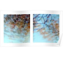 Autumn Impressions - Diptych #1 Poster