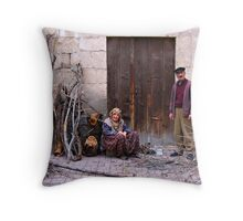 The Wood Collectors Throw Pillow
