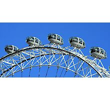 London Eye detail Photographic Print