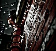 Hostel Pipes by Matthew Cosier