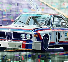 BMW 3 0 CSL 1st SPA 24hrs 1973 Quester Hezemans by Yuriy Shevchuk