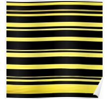 Beautiful Cushions / Collection/ BC Yellow Stripes Poster