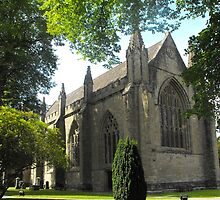 Dunkeld cathedral by Joshua  Kremer