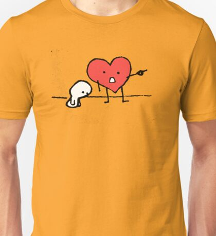 I have a big heart Unisex T-Shirt
