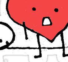 I have a big heart Sticker