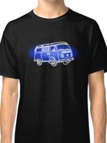 White Bay On Blue Classic T-Shirt