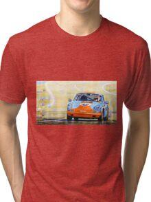 Porsche 911 S  Classic Le Mans 24  Tri-blend T-Shirt