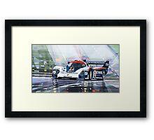 Porsche 956 Rothmans 1982 1000km Francorchamps Derek Bell Framed Print