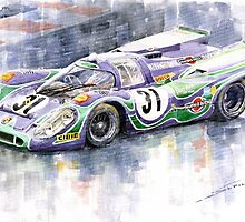 Porsche 917 K  Martini Racing 1970 by Yuriy Shevchuk