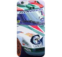 Lancia Stratos Alitalia Rally Catalonya Costa Brava 2008 iPhone Case/Skin