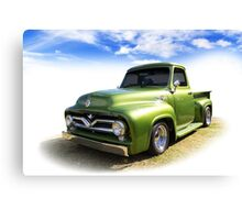 Fifties Ford Canvas Print