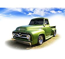 Fifties Ford Photographic Print