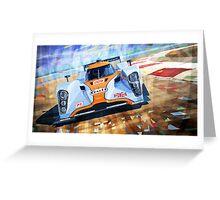 Lola Aston Martin LMP1 Le Mans Series 2009 Greeting Card