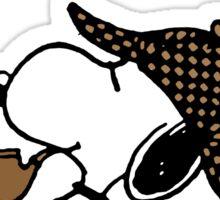 Snoopy Sherlock Holmes Sticker