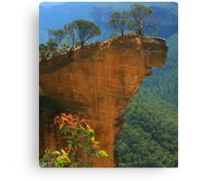 Hanging Rock at Blackheath Canvas Print