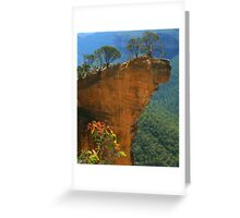 Hanging Rock at Blackheath Greeting Card