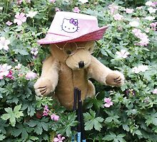 Ted's New Neighbour the Gardener by AnnDixon
