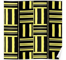 Beautiful Cushions / Collection/ BC Yellow Pattern Poster