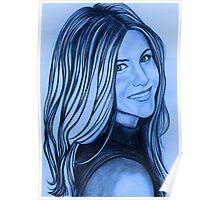 Jennifer Aniston celebrity portrait Poster