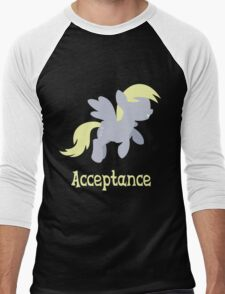 Derpy - Acceptance Men's Baseball ¾ T-Shirt