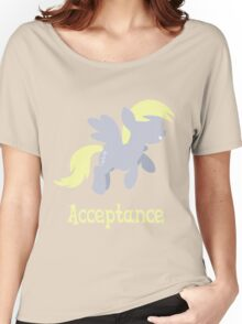 Derpy - Acceptance Women's Relaxed Fit T-Shirt