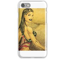 American Swimsuit  iPhone Case/Skin