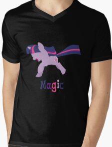 Twilight Sparkle - Magic Mens V-Neck T-Shirt