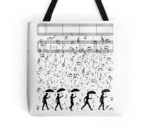 Singing in the Raaaain Tote Bag