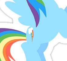 Rainbow Dash - Loyalty  Sticker