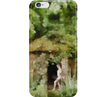 Lady of the Woods 3 by Mary Bassett iPhone Case/Skin