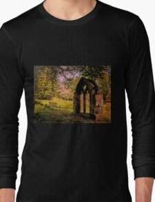Manor house landscape. Long Sleeve T-Shirt
