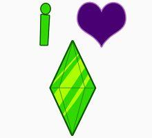 I Heart Sims Unisex T-Shirt