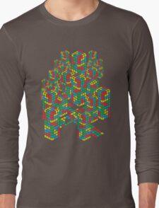 Tetris City Long Sleeve T-Shirt
