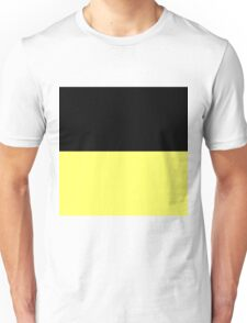 Beautiful Cushions / Collection/ BC Yellow Black Unisex T-Shirt