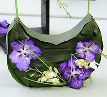 Orchid handbag by rhallam
