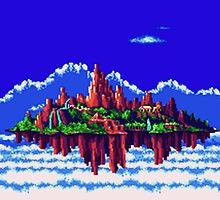 Floating Island (Angel Island) sonic 3+K by Kayla Way