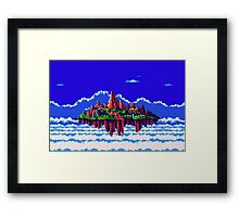 Floating Island (Angel Island) sonic 3+K Framed Print