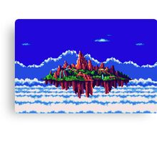Floating Island (Angel Island) sonic 3+K Canvas Print