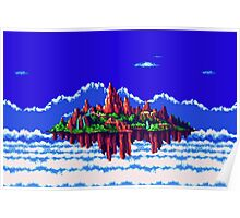Floating Island (Angel Island) sonic 3+K Poster