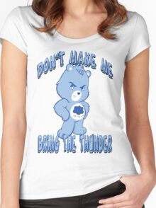Grumpy Care Bear - Bring the Thunder Women's Fitted Scoop T-Shirt