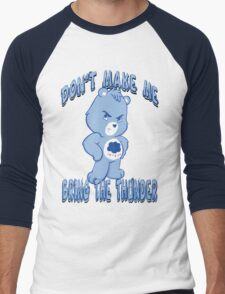 Grumpy Care Bear - Bring the Thunder Men's Baseball ¾ T-Shirt