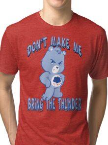 Grumpy Care Bear - Bring the Thunder Tri-blend T-Shirt