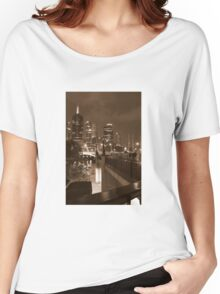 Sepia City - Melbourne - Victoria - Australia Women's Relaxed Fit T-Shirt