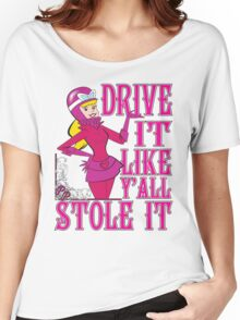 Penelope Pitstop - Drive It Like Y'all Stole It -  Women's Relaxed Fit T-Shirt