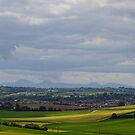 Mournes from Scrabo Hill by oulgundog